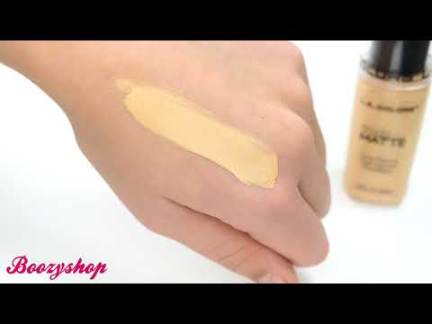 LA Colors LA Colors Truly Matte Foundation Golden Beige