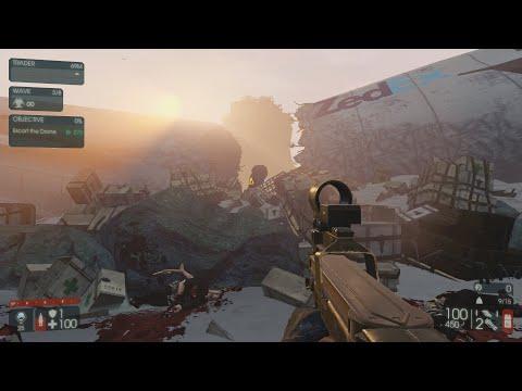 Killing Floor 2: Hell on Earth Zed Landing SWAT Objective Solo w/King FP