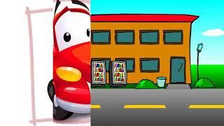 Развивающий мультик , упрямая машинка , учим правила дорожного движения.