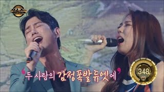 [Duet song festival] 듀엣가요제 - Tei,  Sensitive stage~ 'Pass by' 20160617