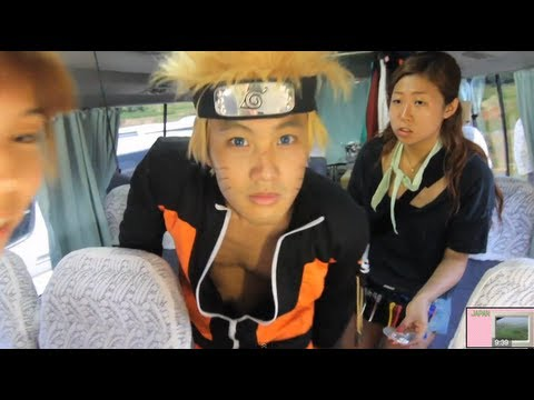 Naruto Shoot Begins! (Japan Trip part 1/3)