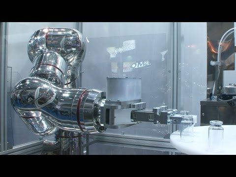 Oh Flexible Stainless Steel Robot, You Are So Bendy And Shiny