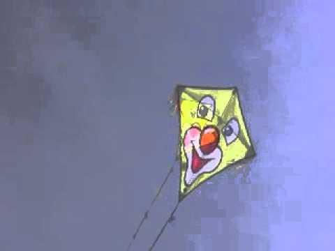 Eddy Clown- Einleiner Drache von Invento HQ mit Clownsgesicht