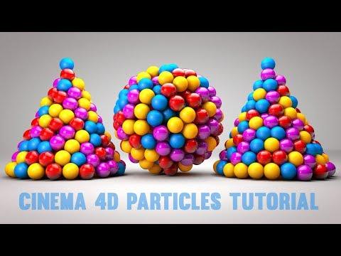 Cinema 4D R18 Tutorial – C4D Particle Emitters Tutorial   C4D Tutorial