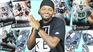 💎Drafting ALL The Diamond Players! Stacked DIAMOND Lineup! - Madden 19 MUT Draft Gameplay