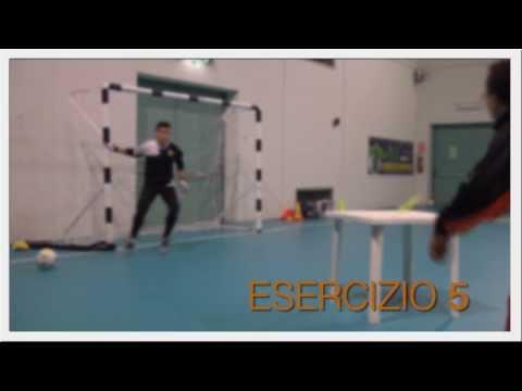 Preview video Allenamento dei portieri calcio a 5 - pt.2