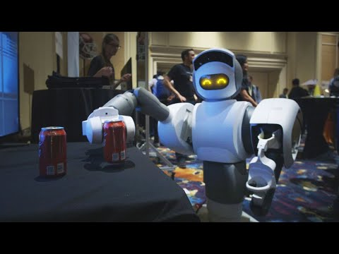 This robot can get you a beer from the fridge | CES 2018