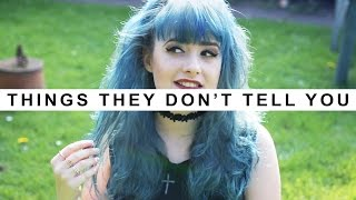 THINGS THEY DONT TELL YOU ABOUT *BRIGHT HAIR*...