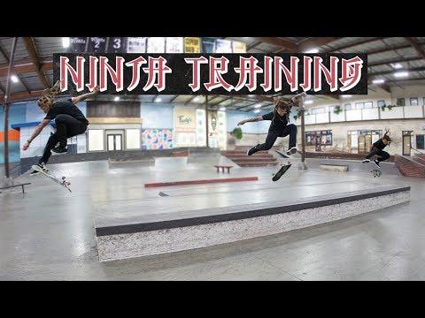 Neen Williams & Erick Valdez - Ninja Training