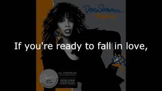 """Donna Summer - All Systems Go (12"""" Single Remix) LYRICS SHM """"All Systems Go"""" 1987"""