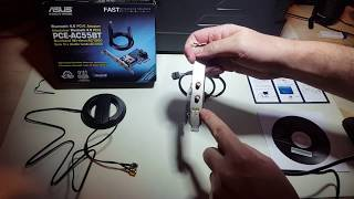 Asus PCE AC55BT Wireless Adapter Review Install and Results
