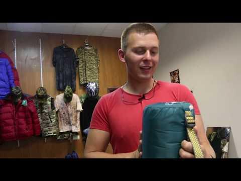 Кемпинговый спальник - одеяло Greenell «Тори». Видеообзор.