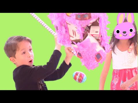 HITTING THAT PINATA! Egg Surprises l LOL Finders Keepers l Shopkins Wonder Ball