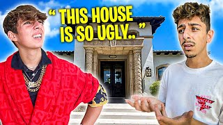 Inviting the Richest Kid in America to my New House! **bad idea**