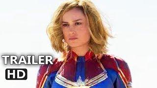 CAPTAIN MARVEL Trailer Português LEGENDADO (2018) Capitão Marvel
