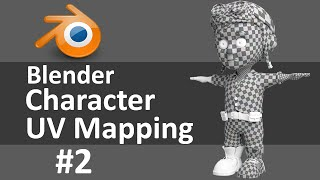 Blender Character UV Mapping 2 of 3