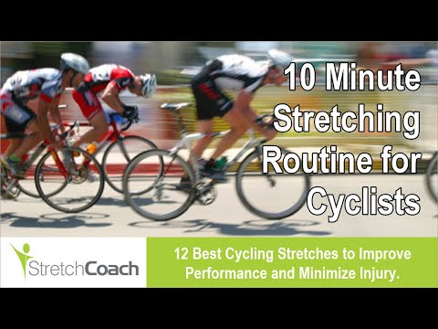 Stretching Routine, Flexibility Program for Cyclists – 10 ...
