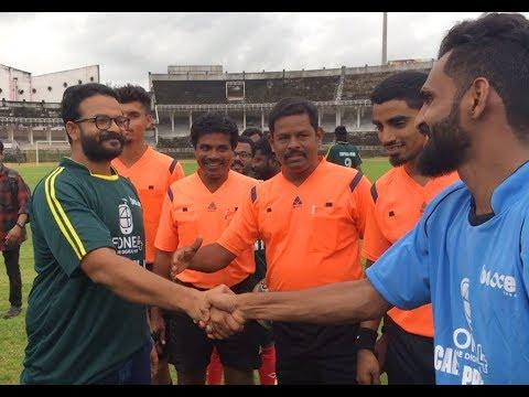 Actor Jayasurya Playing Football   Mathrubhumi