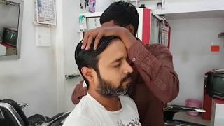 Master Cracker Filming Apprentice Head Massage