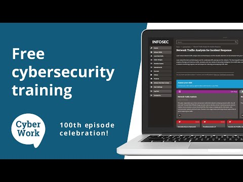 FREE cybersecurity training for everyone — 100th episode ...