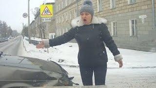 """Женщины за рулем - """"Сучка крашенная!"""" (часть 14) ★ Тематические подборки дтп"""