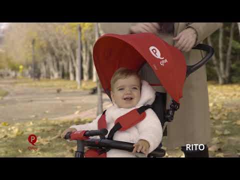 Triciclo Qd Play Plegable Rito Devessport Rojo