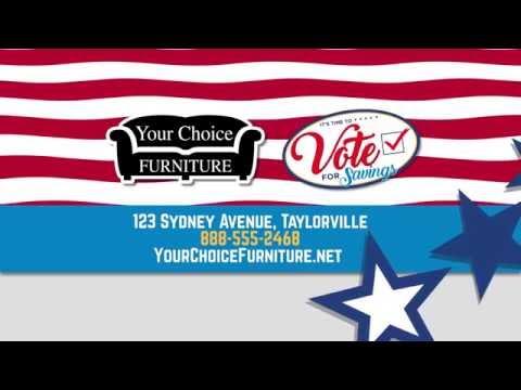Vote for Savings - TV