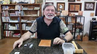 Leathercraft Tips for Beginners with Jim Linnell
