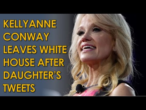 Kellyanne Conway Leaving White House after Daughter Claudia Conway's Tweets