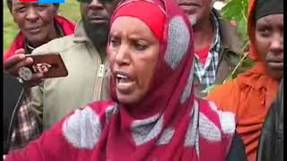Drama as Isahakia community invade a parcel of land  belonging to them grabbed by powerful forces