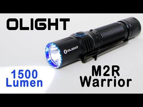 Olight M2R Warrior taktische Taschenlampe | Review und Test