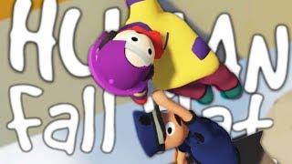HILARIOUS HUMANS FALLING | Human Fall Flat w/Robin #1