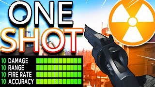 HOW TO MAKE THE .357 PISTOL ONE SHOT in MODERN WARFARE - MW ONE SHOT .357 REVOLVER! (MW Executioner)