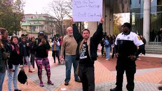 """Man Yells """"N-word"""" Toward Police And Students At VCU"""