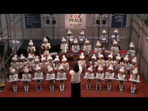 2017年12月23日 ショッパーズプラザ横須賀 X'mas キャロリング 聖佳幼稚園