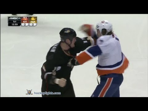 Tim Jackman vs. Matt Martin