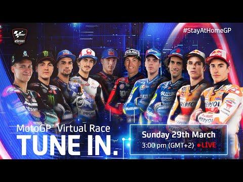 MotoGPバーチャルレース ムジェロ ライブ配信動画