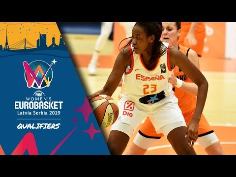 Netherlands v Spain – Full Game – FIBA Women's EuroBasket 2019 – Qualifiers 2019