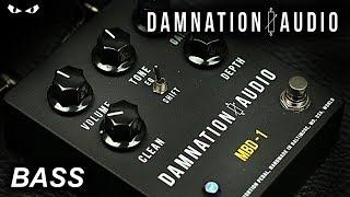 Damnation Audio MBD-1 Bass Distortion - BASS Demo