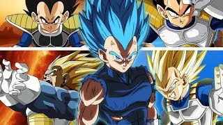 Vegeta All Forms And Transformations [Remastered HD]