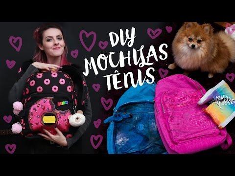 DIY - Personalizando mochilas, bolsas, tênis - Karen Bachini