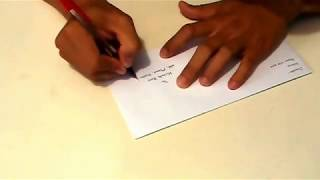 How to write address on the envelope correctly