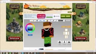 Minecraft Hintergrundbild Mit Eurem Skin Erstellen Самые лучшие видео - Minecraft skins fur ps3 erstellen