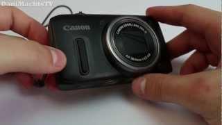 Canon Powershot SX 260 HS Review German Deutsch [Full HD]
