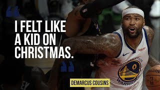 DeMarcus Cousins discusses his return to the NBA court