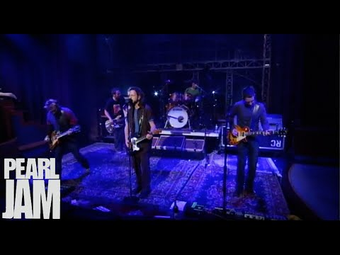 Gone - Late Show With David Letterman - Pearl Jam