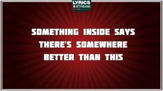If God Made You - Five For Fighting tribute - Lyrics