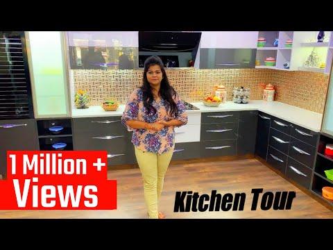 """""""Modular Kitchen Design 2020"""" - complete Kitchen Organization With Details"""