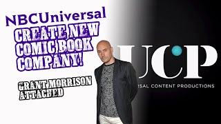 NBCUniversal Create Comic Company - BOOM!, MORRISON Attached