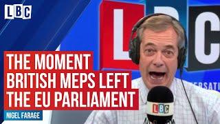 Brexit: Nigel Farage explains next steps after British MEPs left Strasbourg
